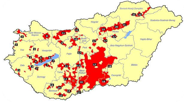 magyarország borvidékei térkép Szálláshely AJÁNLÓ   szálláskereső, szálláshelyek, szállások  magyarország borvidékei térkép